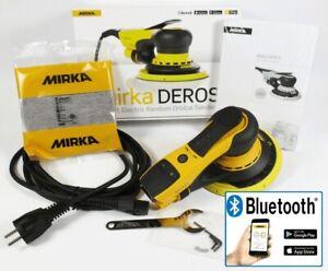 MIRKA DEROS Elektro Exzenterschleifer 150mm 5mm Hub 650CV MID6502022