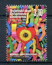 Bosnia & Herzegovina 2018 MNH World Down Syndrome Day 1v Medical Health Stamps