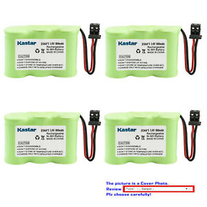 Kastar Cordless Battery Fits for Battery Country 359450 Dantona 312AAB 3 1/2AAB