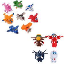 12pcs Animation Super Wings Transformation des avions au choix  Airplane Figures
