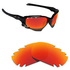 Hawkry Polarized Replacement Lenses for-Oakley Jawbone Vented Orange Red Mirror