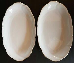 2 Pequeños Platos en Porcelana Alemana Ref 292729089337