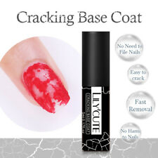 LILYCUTE Soak Off UV Gel Polish Cracking Base Coat Nail Art  Gel 5ml
