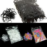 1000 pcs Elastic Hair Bands Braiding Small Rubber Band Ponytail Hair Ropes new