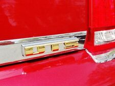 Cadillac DTS Gold TRUNK Overlay Emblem 2006 2007 2008 2009 2010 2011
