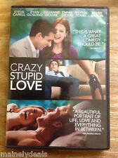 Crazy, Stupid, Love. (DVD, 2011) Tested! Works!