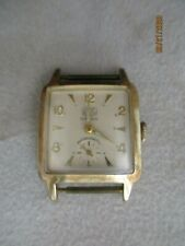 "Armbanduhr ""UMF Ruhla"", 15 Rubis, Gehäuse Walzgolddouble 20 Mikron, Handaufzug"