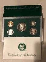 1996 Green Box United States Mint Proof Sets w / COA BIRTH YEAR