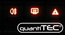 Audi 80 90 B3 B4 S2 Umbauset 6 Schalter LED ROT Tacho OHNE LÖTEN