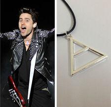 BOHO Choker Triangle Shaped Pendant Necklace Silver Short Chain Hot Sale Decor