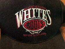 VTG Whites Boots All Leather Legend Spokane WA Trucker Cap