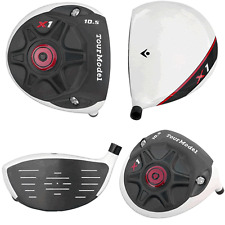 #1 ILLEGAL ROCKET TOUR MADE X1 TAYLOR FIT MADE +25YD BALLZ DRIVER w/AccuFLEX r1