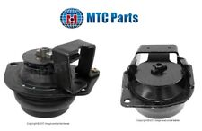 For Saab 9000 1990-1998 Set Pair of 2 Rear & Front Lower Engine Motor Mount MTC