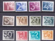 Great Britain Postage Due 1982 SG D90-101**