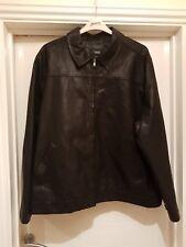 Mens Thomas Nash Leather Look Jacket XXL