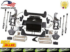 "2011-2017 Chevrolet GMC 2500HD 3500HD 5"" Zone Offroad C12N Lift Kit w/Fox Shocks"