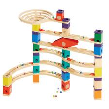 Hape Quadrilla Xcellerator Marble Run Race Maze Toy Construction Building Set