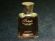 VINTAGE VERY RARE PRELUDE BATH AND BODY PERFUME 1 DRAM BY JAQUET