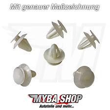 10x Innenverkleidungsclip Befestigung für Ford Opel Clips Chevrolet | 2345957