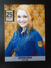 Josephin Busch - Hinterm Horizont - Udo Lindenberg Musical - Autogrammkarte #1