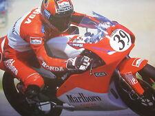 Poster Marlboro Honda RS125 1997 #39 Jaroslav Huleš (CZE)