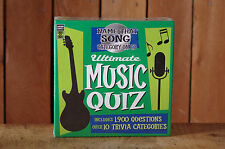 Name That Song Ultimate Music Quiz by Lagoon Games NIB Holiday Gift