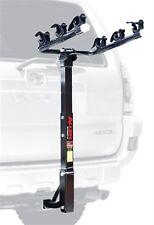"""Allen Deluxe Bike Hitch Mount Car Racks  - 3 Bike - 1-1/4 Or 2"""" - Black"""