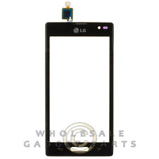 Digitizer Frame Assembly for LG P769 Optimus L9 Black Front Glass Touch Screen