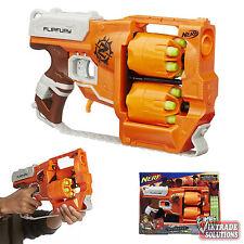 Nerf Guns Zombie Strike FlipFury Blaster Gun Darts Game Toy Bullet Rifle Pistol