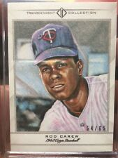 2016 Topps Transcendent Sketch Rod Carew 54/65