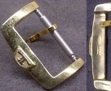 Original Jaeger LeCoultre Buckle 2 Fibbia 16mm inner YellowGP Light signs L@@K !