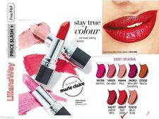 Avon Ultra Colour Satin Lipstick Red 2000 Bright Red Bold Shade