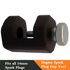 Black 14mm Universal Engine Spark Plug Gap Tool Gapper Gapping Sparkplug Caliper