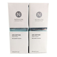 NERIUM  AD AGE DEFYING DAY AND NIGHT CREAM COMBO  COMPLETE KIT SEALED FAST SHIP