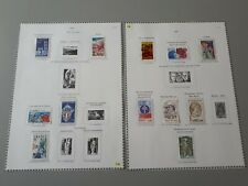 timbres France :1976  YT n° 1881, 1886, 1888,  1902, 1907, 1909 ** / n° 1890 *