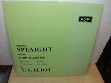 Robert Speaight reading Four Quarters by T.S. Eliot c1960s LP Argo PLP 1109