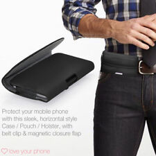 Belt Clip Pouch Holster Horizontal Magnetic Flip Case Cover Holder✔Samsung