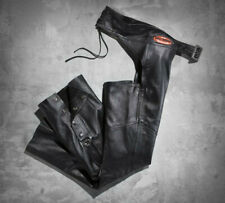 Harley Davidson Women's Classica Leather Chap, 98026-12VW, XS