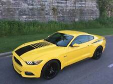MUSTANG FADED CENTER HOOD Stripe Decal Stripes fit 2015 2016