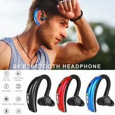 Sweatproof Bluetooth Headset Wireless Headphone Earphone for iPhone Samsung