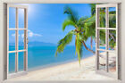 New Large 3d Home Decor Mural Valley Window View Wall Art Stickers Vinyl Decal