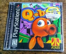 Q~BERT HE'S BACK 1999 SONY PLAYSTATION 1 QBERT GAME BRAND NEW AND FACTORY SEALED