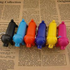 Mini Dog Puppy Lighter Refillable Butane Gas Flame Cigarette Keychain