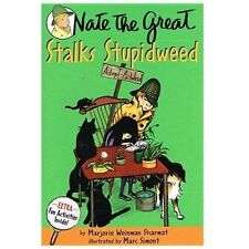 Nate the Great Stalks Stupidweed by Marjorie Weinman Sharmat (1989, Paperback)