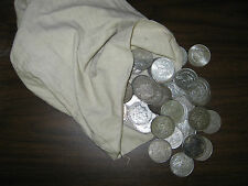 100 PRE 1921 MORGAN SILVER DOLLARS IN VF - AU CULL CONDITION U.S. DOLLARS