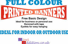 PVC Banner Full Colour Outdoor Printed Banner Sign Custom Printed   Sign Display