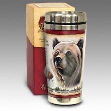 rizzly Bear 16-oz. Steel Travel Mug American Expedition