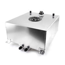 15 Gallon / 60 Litre Aluminum Fuel Cell w/Tube Type Level Sender - Silver