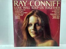 RARE Ray Conniff Love Will Keep Us Together CBS 1975 Vinyl Record lp1219