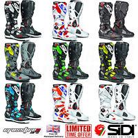 2018 SIDI Crossfire 2 SRS Motocross Off Road Enduro Boots